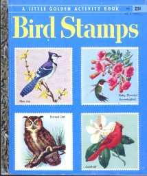 Golden Book: Bird Stamps